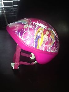 Toddler Disney princess bike helmet
