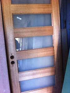 WHAT??  SOLID  TIMBER  ENTRANCE  DOORS CHEAP !!   ??? Logan Reserve Logan Area Preview