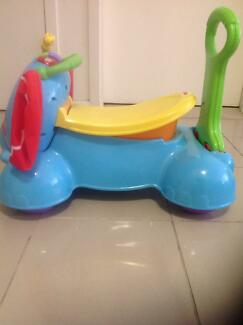 e9b753da0 Fisher price 3 in 1 Bounce stride and ride elephant