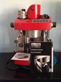 Sunbeam Cafe Series Expresso Machine - VGC Arundel Gold Coast City Preview