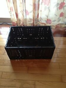 Black Storage Baskets/Crates (CHEAPEST DEALS -- Trust me)