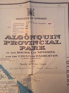 Old Maps of Algonquin Park & Ontario London Ontario image 5