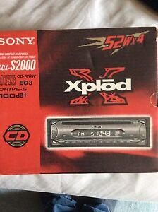 Sony explod CD player