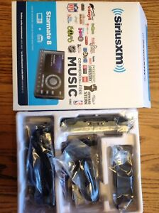 Sirius Starmate 8 radio and vehicle kit