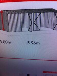 REDUCED 3 DOOR ABSCO SHED WITH GABLE ROOF--ZINC ONLYNOW $1000.00 Logan Reserve Logan Area Preview