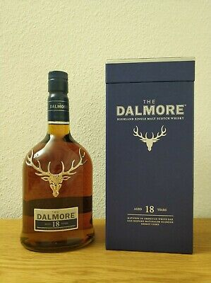 Dalmore 18 Jahre Single Malt Scotch Whisky 43% 0,7l Highlands Schottland