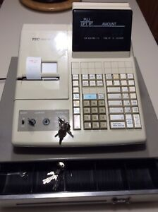 TEC MA 216 cash register for sale with  manual  613-639-2924