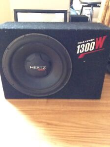 Subwoofer and Amp Combo 300
