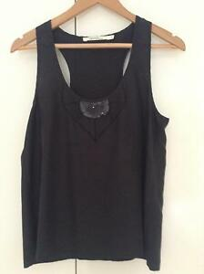 Grab black tank top Everton Hills Brisbane North West Preview