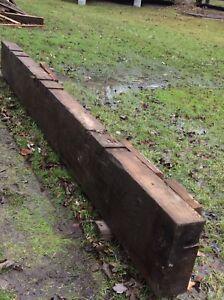13 foot Wood Beam/Mantle