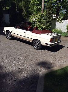 Renault alliance 1985  convertible