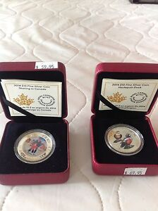 Two Royal Canadian mint collector coins