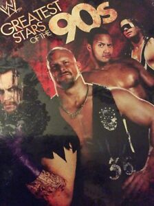 WWE Greatest stars of the 90s new in package asking $10