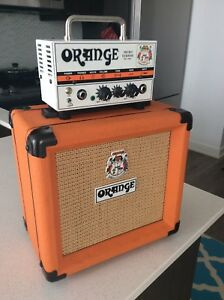 Orange micro terror electric guitar amplifier Marshall peavey