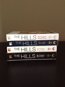 The hills tv series season 1-4 DVD collection