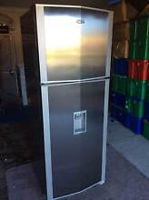 Single stainless steel fridge for sale-near new Quinns Rocks Wanneroo Area Preview