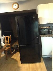 LG Black Fridge