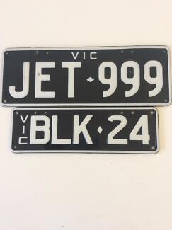 Number plates for sale