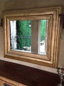 Lovely Gilt Framed Mirror-Good Condition-Can Deliver Arncliffe Rockdale Area Preview