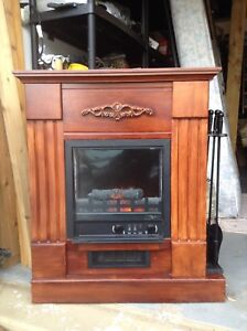 Fireplace/Electric heater