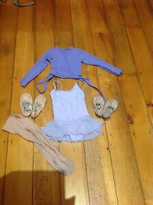 Childs ballet kit (leotard, top shoes, tights) - suit age 4-5 Hawthorne Brisbane South East Preview