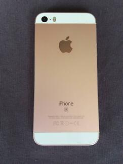 iPhone SE Rose Gold 64GB (unlocked) - Great Condition
