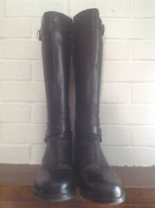 Prada all leather boots size 9