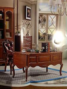 Brand New Study Desk - Reproduction Antique Stytle Surrey Hills Boroondara Area Preview