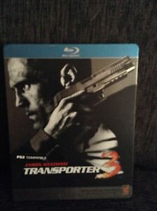 "TRANSPORTER 3 ( BLU-RAY "" STEELBOOK EDITION "" ) JASON STATHAM Adelaide CBD Adelaide City Preview"