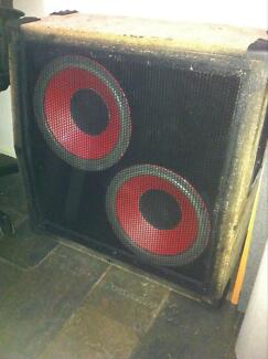 Unloaded laney 2 x 12 guitar cab project O'Halloran Hill Marion Area Preview