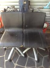 2x black office swivel chairs Bulimba Brisbane South East Preview