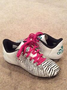 Girls Adidas soccer shoes- size 2