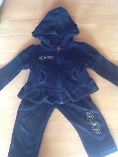 DEREON (Beyoncé brand) Velour t/suit, 24mths, EUC, PROSPECT Prospect Prospect Area Preview