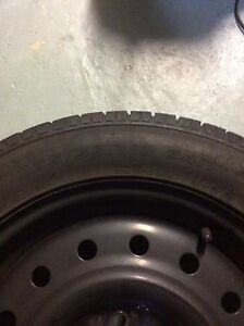 Toyo 205/55R16 Snow tires and steel rims