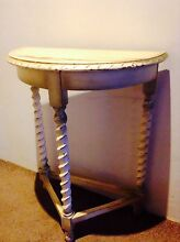 Cute crescent table 1940s Botany Botany Bay Area Preview