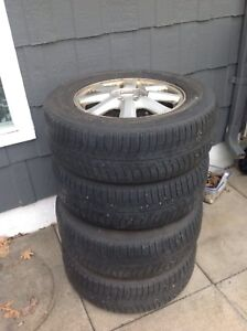 4 Winter tires 225/65/R 16 for sale