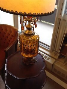 Tall vintage table lamp