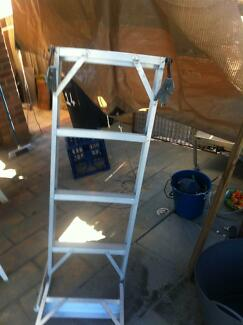 FOLD AWAY ALUMINIUM ATTIC LADDER Enfield Burwood Area Preview