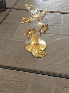 24 carrot plated Austrian Crystal hummingbird ornament Abbotsbury Fairfield Area Preview