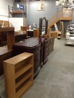 HUGE VARIETY of furniture. Variety of prices. Come look!