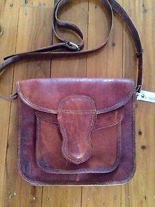 Leather satchel cross body bag brand new with tags Woolooware Sutherland Area Preview