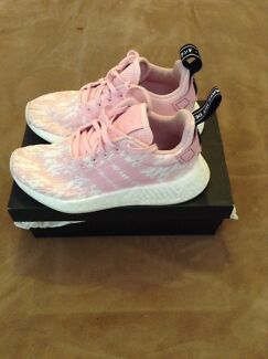 Adidas NMD pink and white women's shoes
