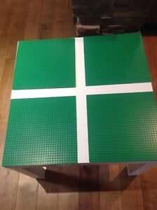 Made to suit Lego table (1-4 plates per table)