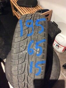 195/65R15 ICEBLAZER  winter tire  450-639-1839 text pls