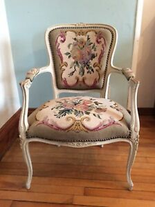 Elegant French Provincial Style Chair