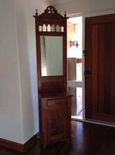 Hall table with mirror and beautiful timber carving Stirling Stirling Area Preview