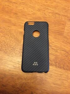 Black Carbon Fibre iPhone 6 Case $10 OBO