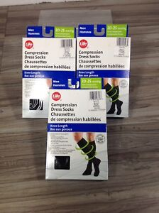 Life compression dress socks - $20 each - box aa24
