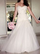 Steven Khalil Couture Wedding Dress, Size 8-10. Glen Iris Boroondara Area Preview