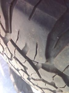 4 1/2 ton truck tires - 275 60R 20